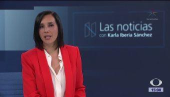 Las noticias, con Karla Iberia Programa del 5 de octrubre de 2017