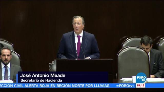 Necesario ajustar Paquete Económico por sismos y huracanes: Meade