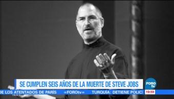 A seis años de la muerte de Steve Jobs