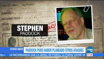 Tirador de Las Vegas pudo haber planeado otros ataques