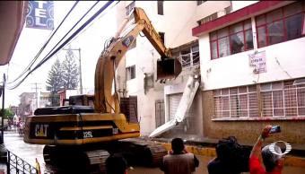 Por ahora en Oaxaca no quieren iniciar la reconstrucción de sus casas
