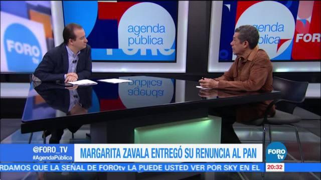 Agenda Pública analiza renuncia de Margarita Zavala al PAN