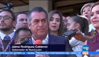 Gobernador de NL se registra como aspirante a la Presidencia de México
