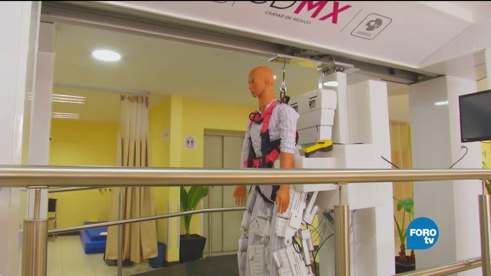 Investigadores del IPN desarrollan exoesqueleto para atender lesiones medulares