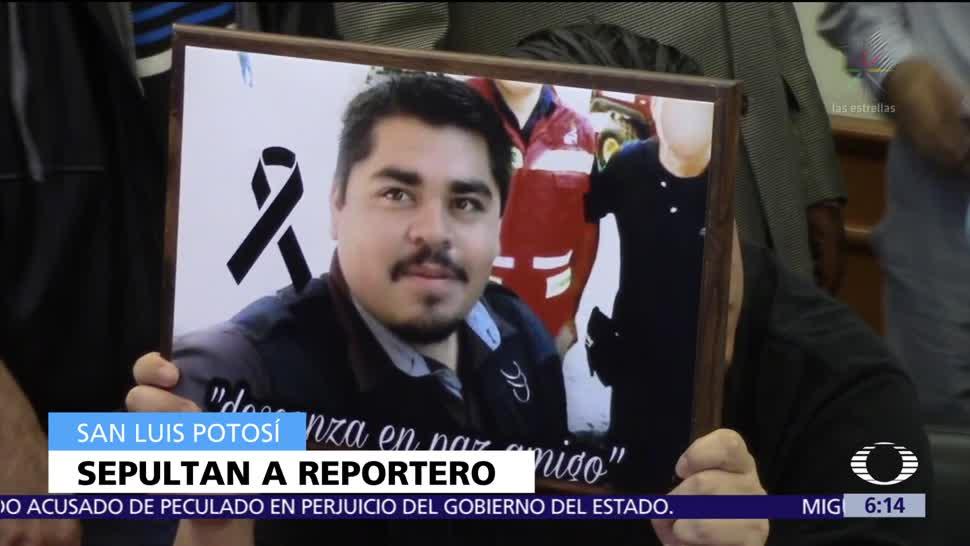 Sepultan a reportero gráfico hallado sin vida tras ser secuestrado