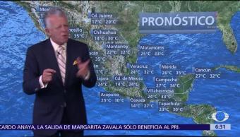 Despierta con Tiempo: Nuevo frente frío se acerca a México