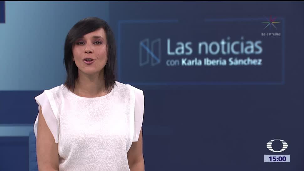 Las noticias, con Karla Iberia: Programa del 9 de octrubre de 2017