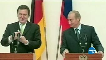 La política energética de Alemania con Rusia