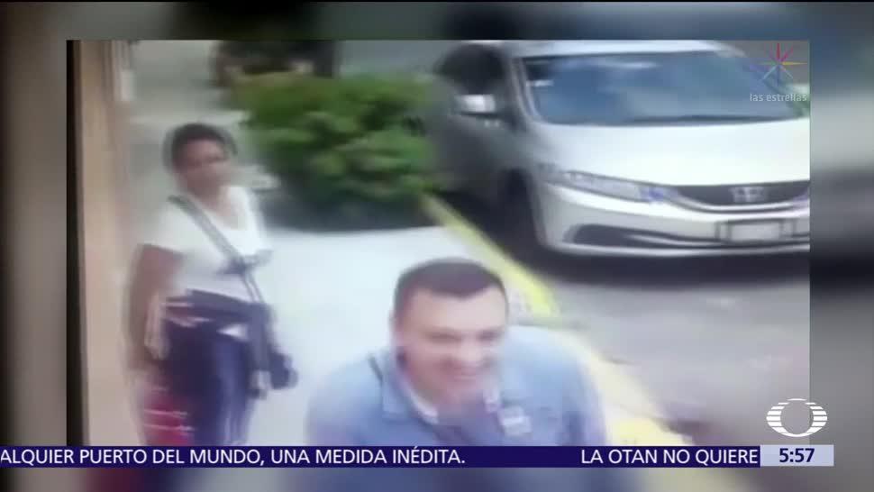 Cámaras de seguridad captan a estafadores en Iztapalapa