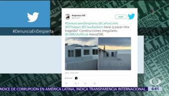 #DenunciaEnDespierta: Exponen construcción irregular en Tlalpan