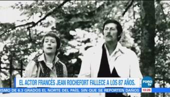#LoEspectaculardeME: El actor francés Jean Rochefort fallece a los 87 años
