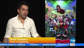 #LoEspectaculardeME: Omar Chaparro presta su voz a 'Condorito'