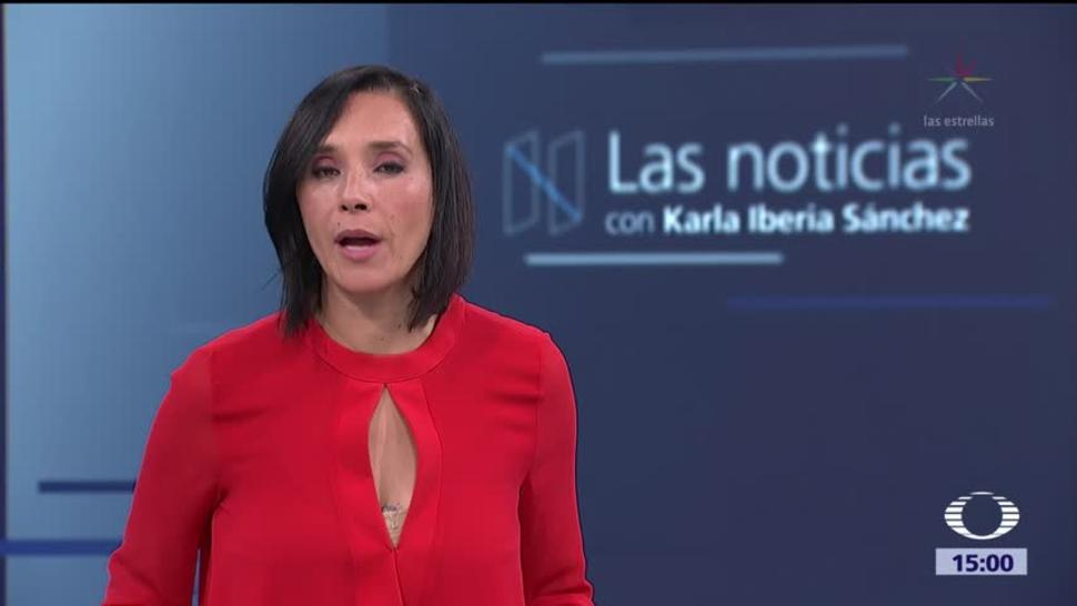 Las noticias, con Karla Iberia: Programa del 10 de octrubre de 2017