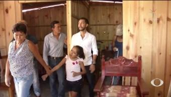 Instalan casas antisísmicas en Cintalapa, ChiapasInstalan casas antisísmicas en Cintalapa, Chiapas