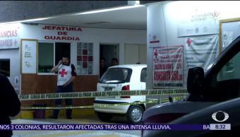Un muerto y un herido por balacera en la Cruz Roja de Tlalnepantla