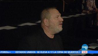 Harvey Weinstein, rostro de un nuevo escándalo en Hollywood