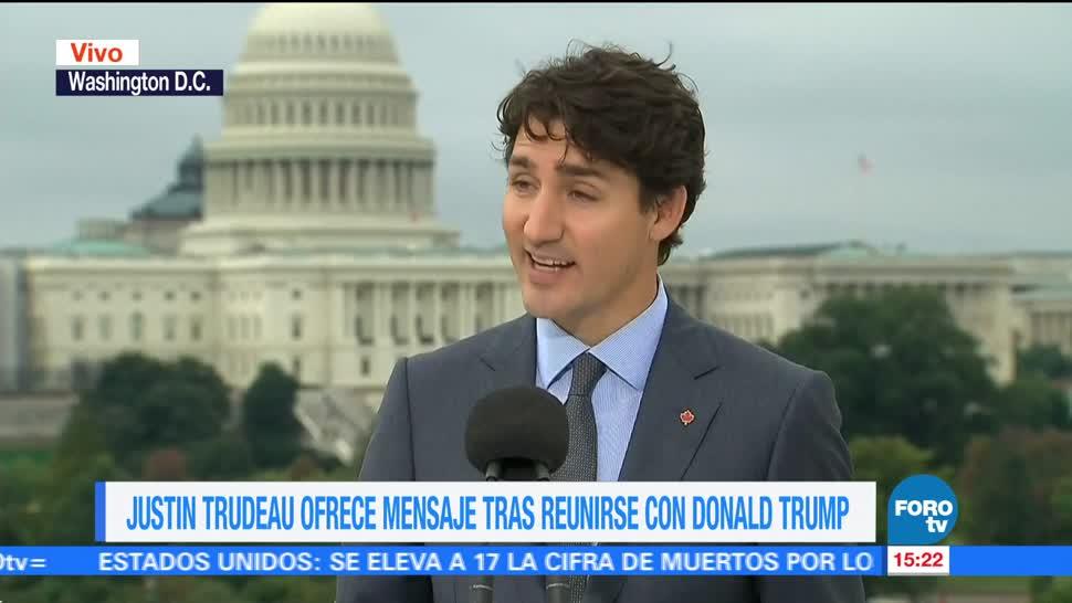 EU y Canadá son países aliados: Trudeau