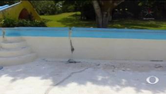 Sigue la afectación en balnearios de Morelos