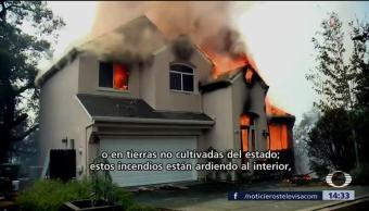Incendios en California afectan viviendas de migrantes