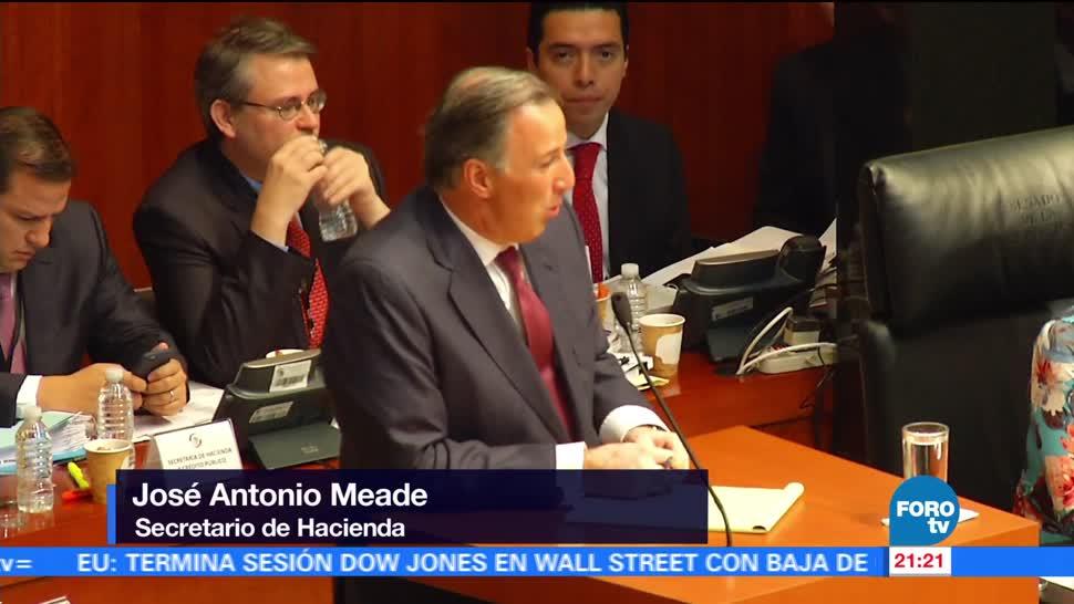 Así fue la comparecencia de Meade en el Senado