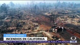 Suman 31 muertos por los incendios forestales en California