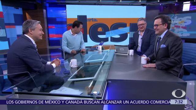 TLCAN, renegociación y Trump, análisis en Despierta con Loret
