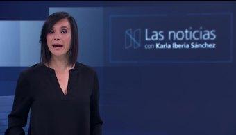 Las noticias, con Karla Iberia: Programa del 13 de octrubre de 2017