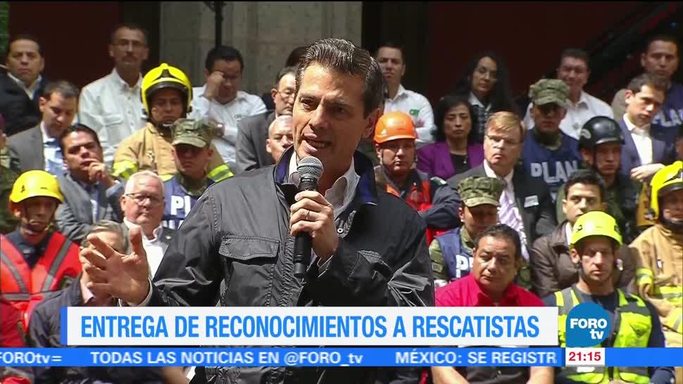 EPN: Sismos dejaron un México más fuerte