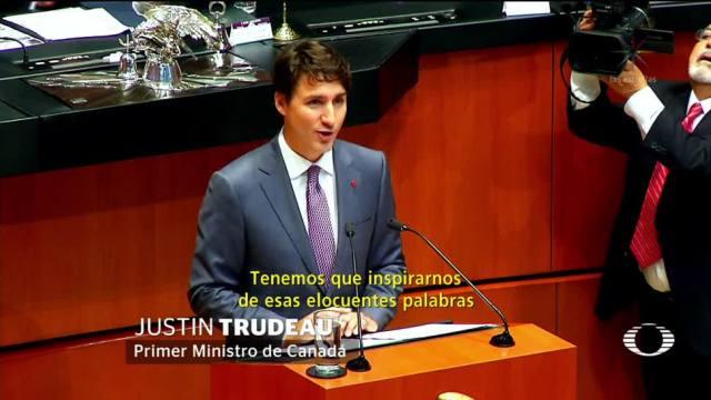 Un éxito, la visita de Trudeau al Senado