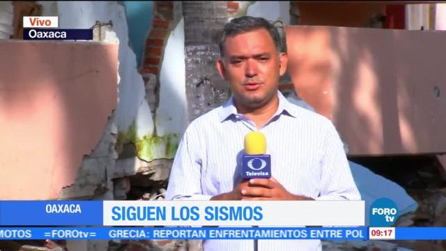 No deja de temblar en Oaxaca