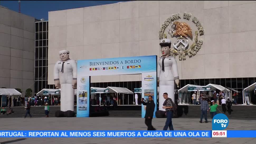 Secretaría de Marina abre sus puertas para que ciudadanos conozcan su trabajo