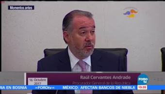 Hemos vinculado a proceso a funcionarios intocables, dice Raúl Cervantes tras renuncia