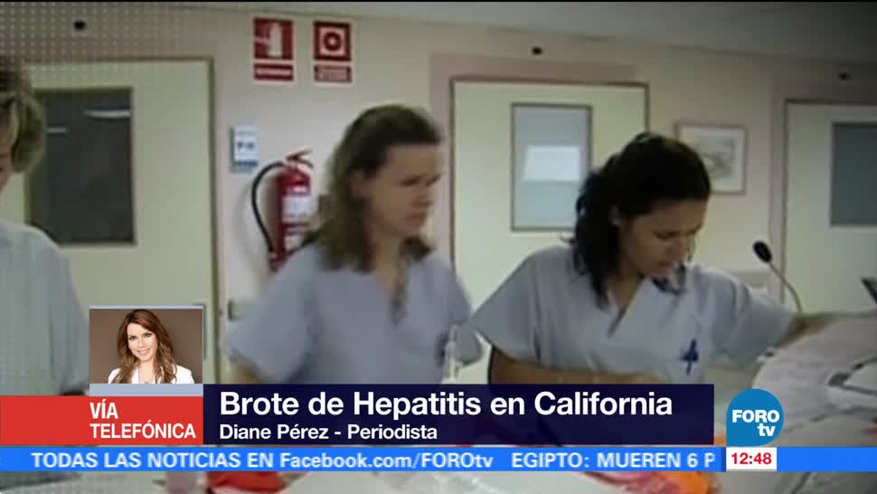 Declaran estado de emergencia en California por brote de hepatitis