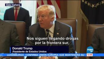 Necesitamos el muro más que nunca: Trump