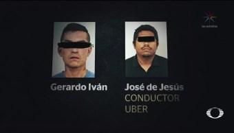 Chofer de Uber, entre asesinos de la joven Mariana Fuentes