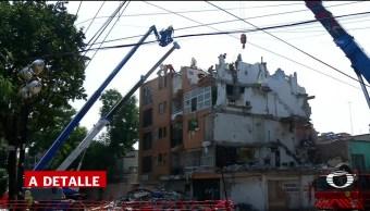 Demuelen edificio de la calle Concepción Béistegui
