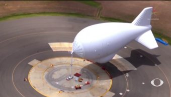 Patrulla Fronteriza vigila ahora con globos aerostáticos