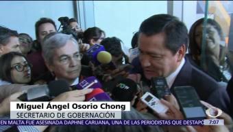 Osorio Chong responde a AMLO sobre aspirantes a la Presidencia