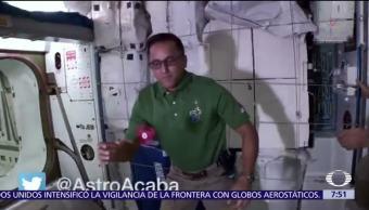 Llega el spinner a la Estación Espacial Internacional