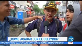 Tras la huella de la noticia: Cómo acabar con el bullying