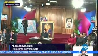 Maduro dice que asume con humildad triunfo en elecciones de gobernadores