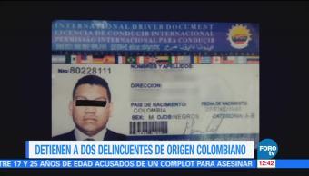 Detienen a dos colombianos que robaban en hoteles de la CDMX