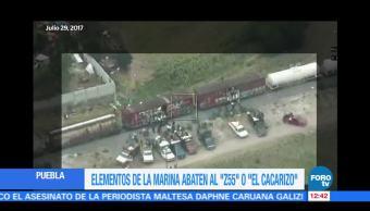 Abaten a presunto líder de los asalta trenes en Puebla
