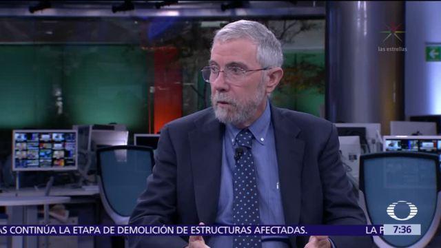 Paul Krugman, premio Nobel de Economía 2008, en el estudio de Despierta