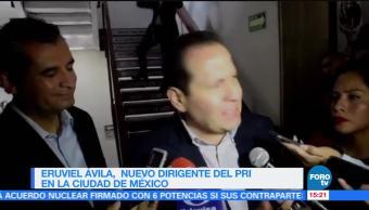 Eruviel Ávila es el nuevo dirigente del PRI en la CDMX