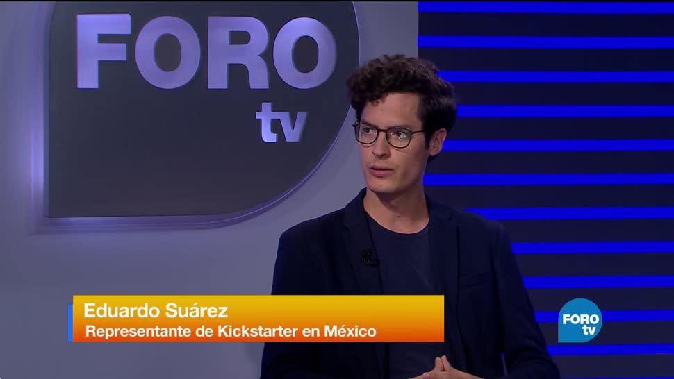 Entrevista con Eduardo Suárez de Kickstarter