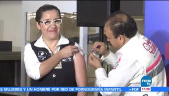 Sedesa aplicará 2 millones 737 mil vacunas antiinfluenza en la CDMX