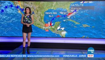 El clima en Las Noticias con Daniela Álvarez