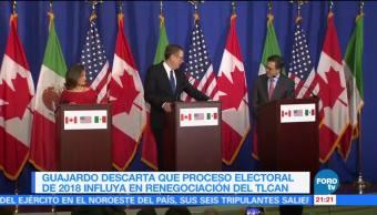 Descartan que proceso electoral en México influya en el TLCAN