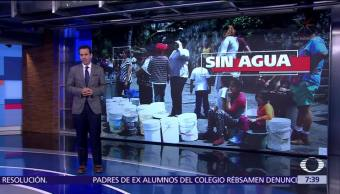 80 mil personas siguen sin agua en Xochimilco tras sismo 19S